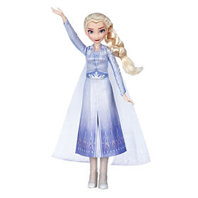 Disney Frozen Singing Elsa Fashion Doll - English Edition