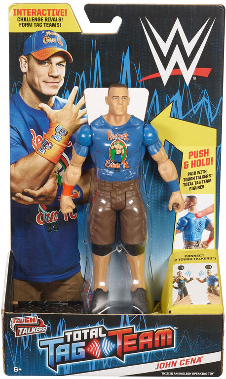 WWE Tough Talkers Total Tag Team John Cena Figure