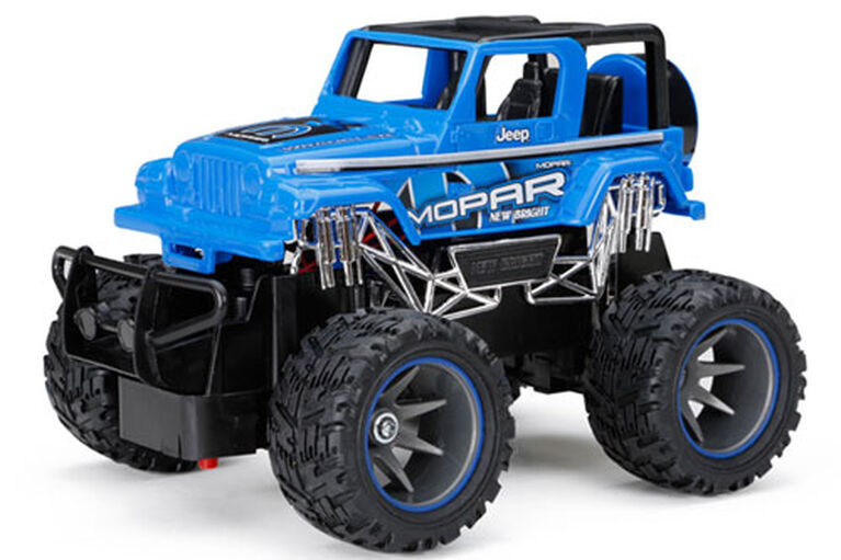 New Bright - 1:24 RC Off Road - Jeep Wrangler - Blue