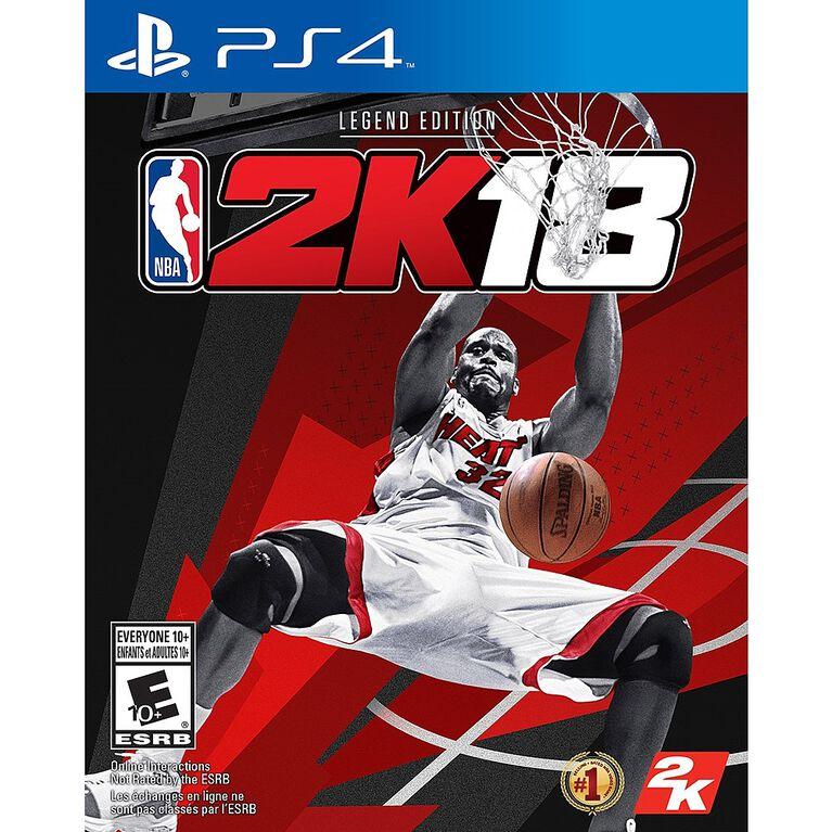 PlayStation 4 - NBA 2K18 Legend Edition