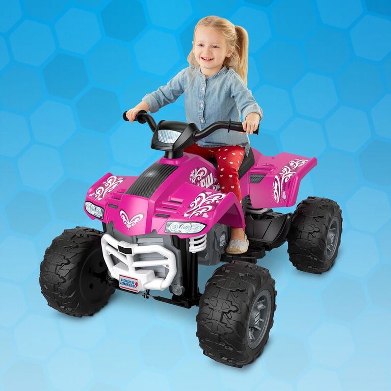 Fisher-Price Power Wheels Racing ATV