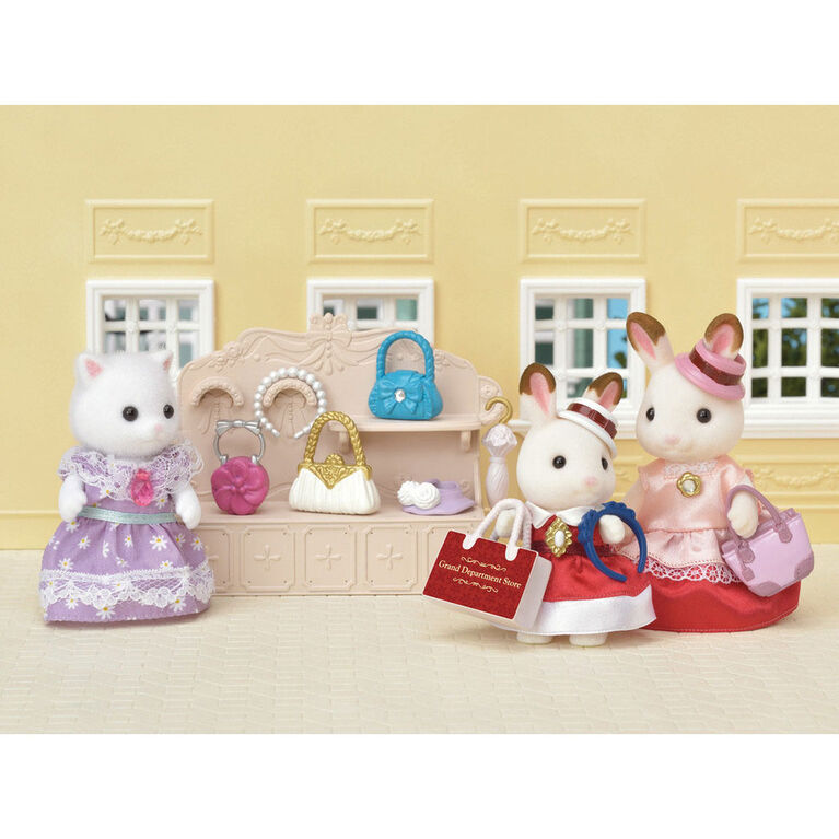 Calico Critters - Ensemble de Vitrine de Mode