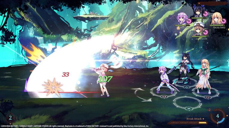 Nintendo Switch Super Neptunia RPG