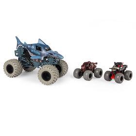 Monster Jam, In Too Deep 3-Pack of Official Exclusive Monster Jam Die-Cast Trucks - R Exclusive