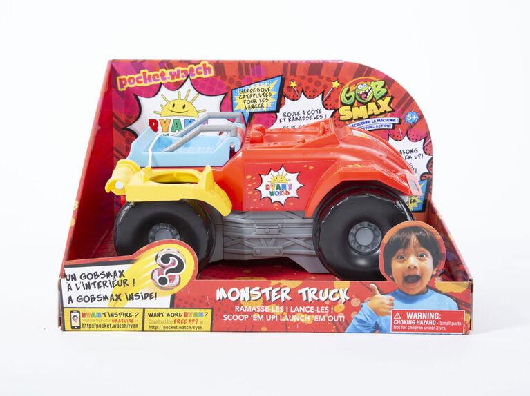 Ryan's World Gobsmax Monster Truck