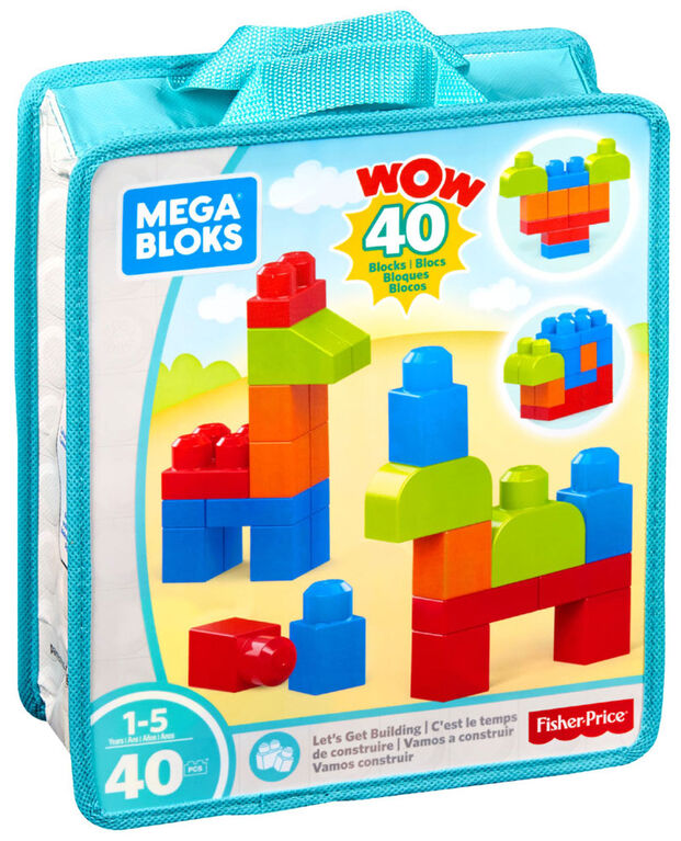 Mega Bloks Lets Get Building Set