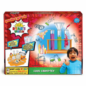 Ryan's World Cool Chemistry Science Kit - R Exclusive - English Edition