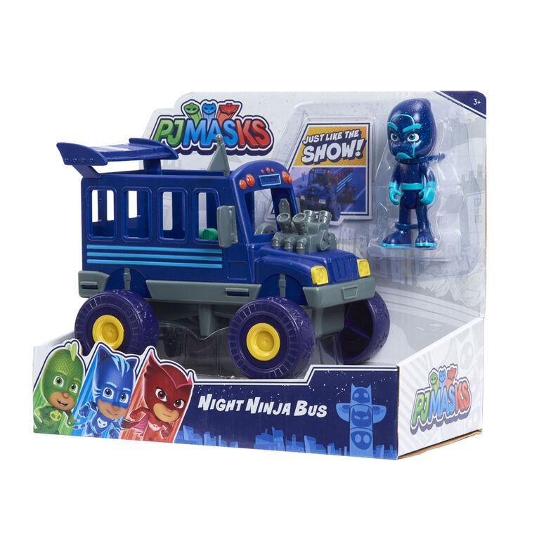 PJ Masks Vehicle Night Ninja and Bus