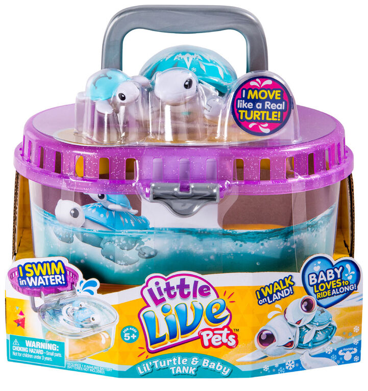 Little Live Pets Lil Turtle Baby Tank Toys R Us Canada