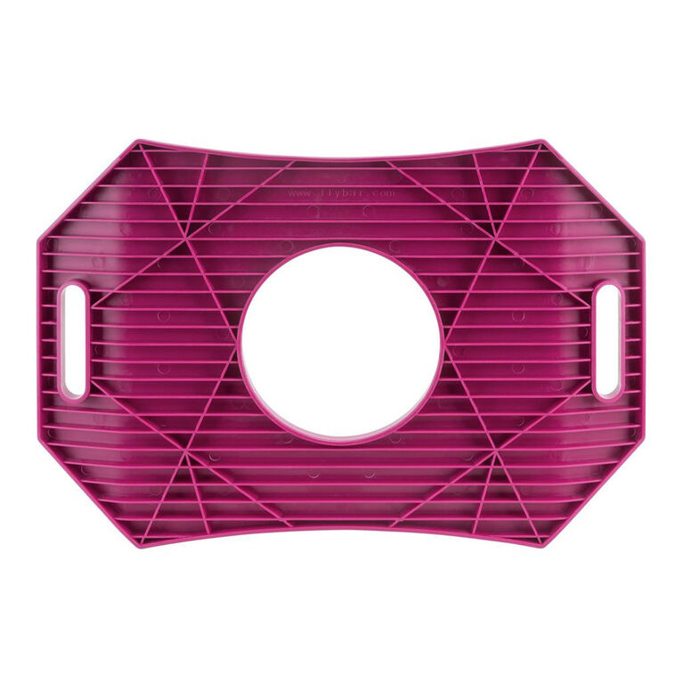 Flybar Trick Board with Pump for Ages 6 and Up (Pink Berry)