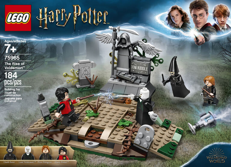LEGO Harry Potter TM La Résurrection de Voldemort 75965
