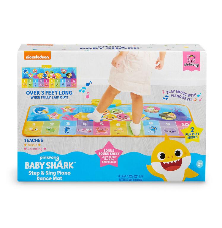 Baby Shark Step & Sing Piano Dance Mat
