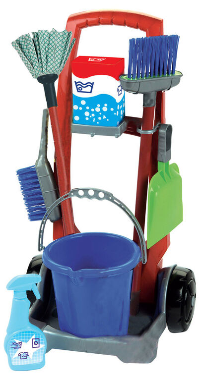 Just Like Home - My Cleaning Trolley with Vacuum Cleaner