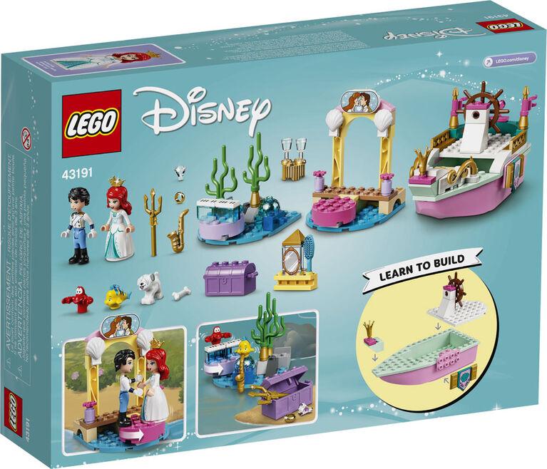 LEGO Disney Princess Le bateau de mariage d'Ariel 43191