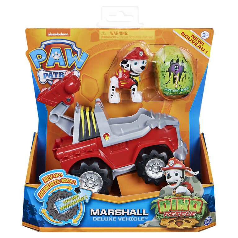 Paw Patrol Dino Deluxe Vechicles Marshall