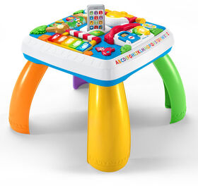 Fisher-Price Laugh & Learn Around the Town Learning Table - French Edition