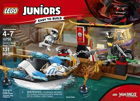 LEGO Juniors La poursuite en bateau de Zane 10755