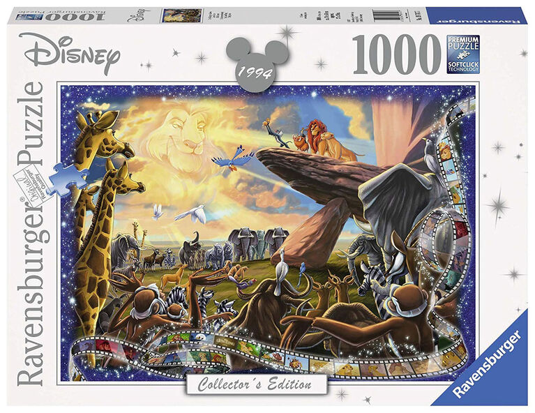 Ravensburger! Disney - Lion King Collector's Edition casse tête (1000pc)