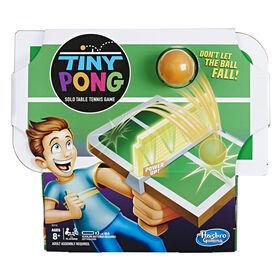 Tiny Pong Jeu de tennis de table solo portatif électronique - Édition anglaise