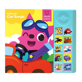 Livre sonore Pinkfong Car Songs - Édition anglaise