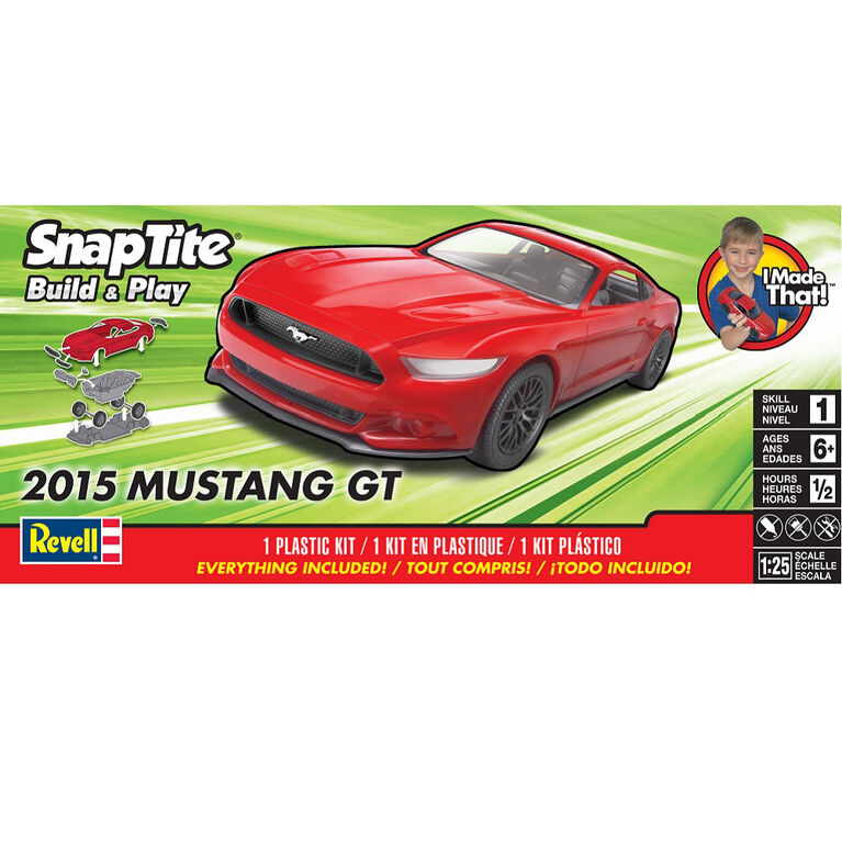 Revell 2015 Mustang Gt - Maquette