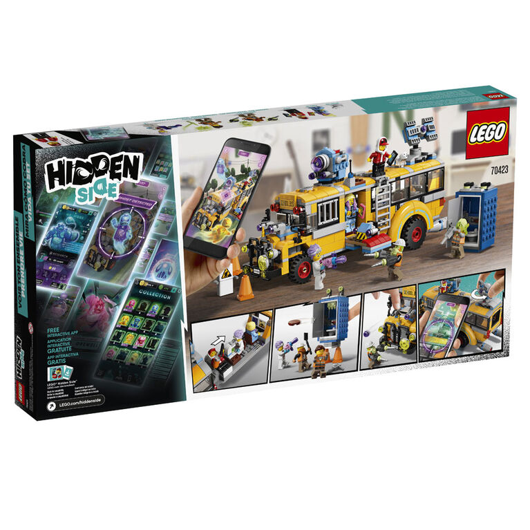 LEGO Hidden Side Paranormal Intercept Bus 3000 70423