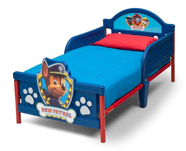PAW Patrol 3D Toddler Bed