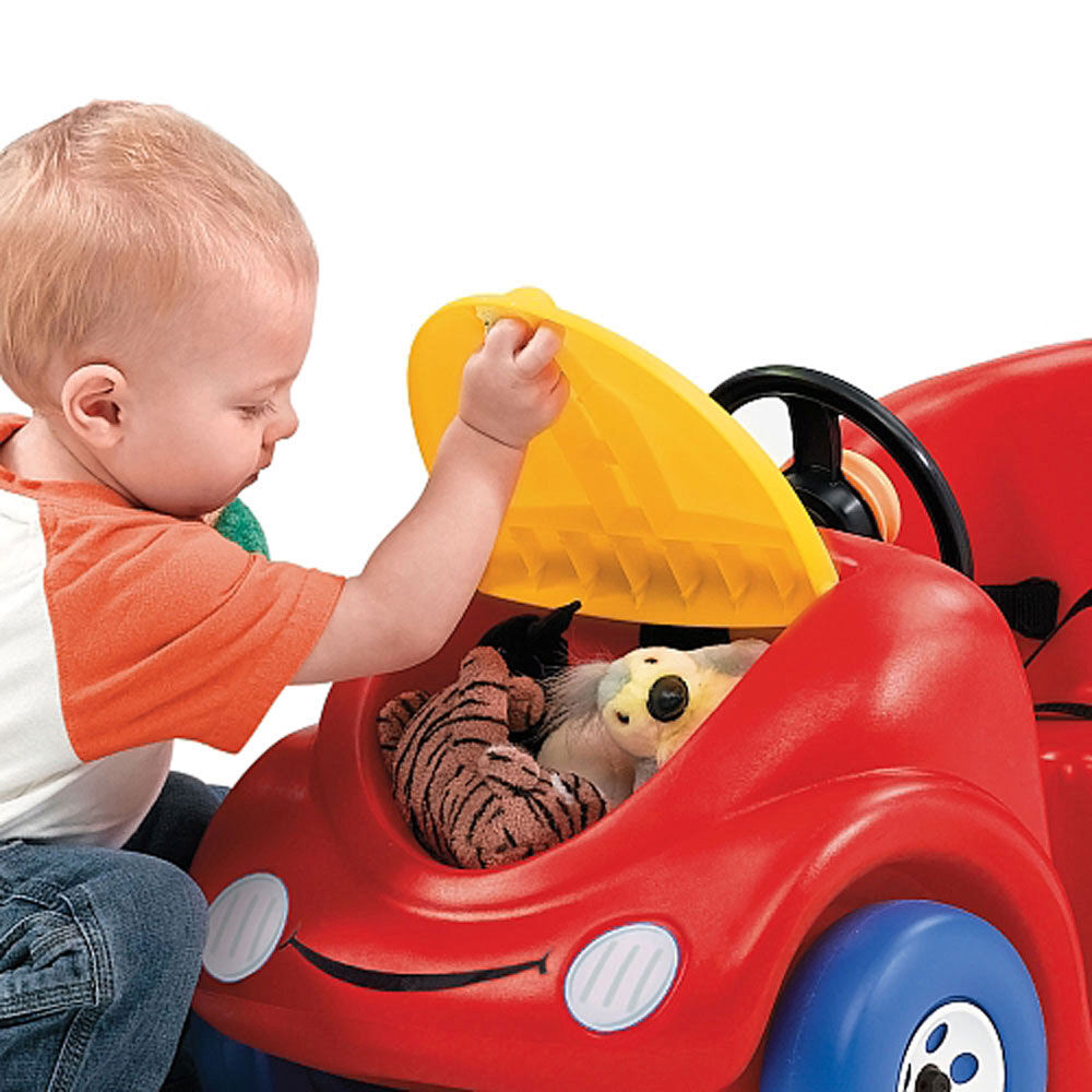 Red Step 2 Toddler Outdoor Play Push Around GT Buggy with Storage Compartment