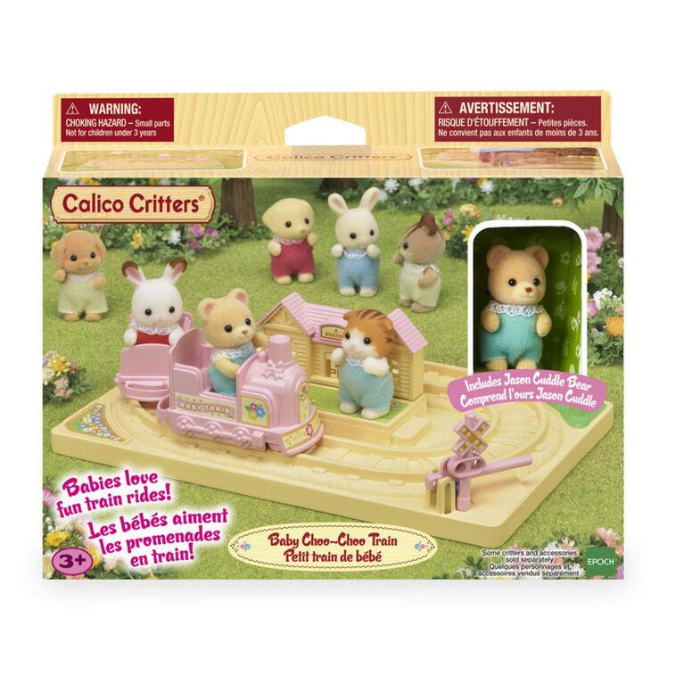 Calico Critters-Baby Choo Choo Train