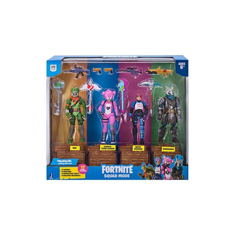 Fortnite Squad Mode 4 Figure Pack.