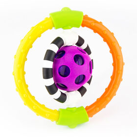 Sassy Spin & Chew Ring Rattle