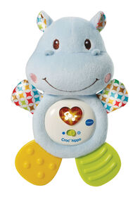 Lil' Critters Huggable Hippo Teether - French Edition
