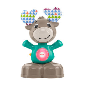 Fisher-Price Linkimals Musical Moose - English Edition