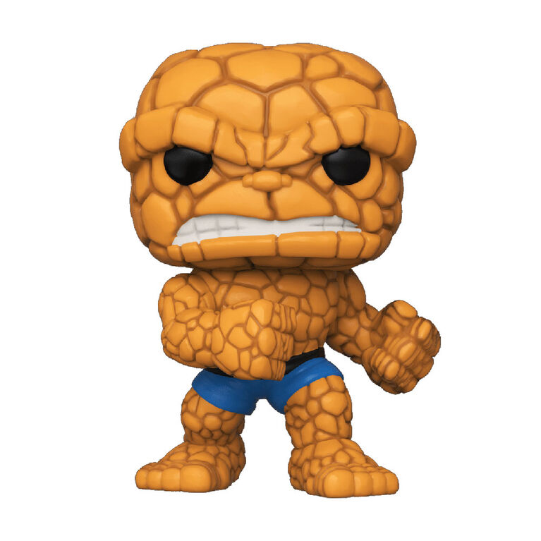 Figurine en Vinyle The Thing Par Funko POP! Marvel Comics Fantastic Four