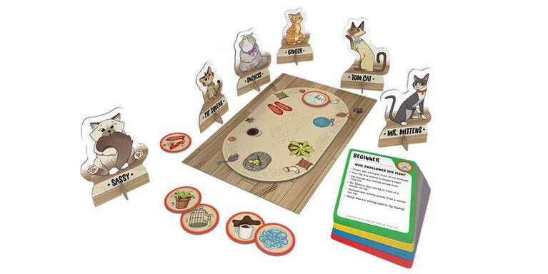 Ravensburger! Thinkfun - Cat Crimes Who's to Blame Logic Game - English Edition