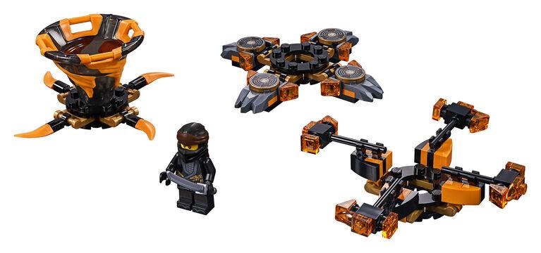 LEGO Ninjago Toupie Spinjitzu Cole 70662