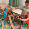 Ensemble Train et Table en bois Waterfall Junction