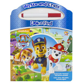 Nickelodeon - Paw Patrol - Write-and-Erase Look and Find