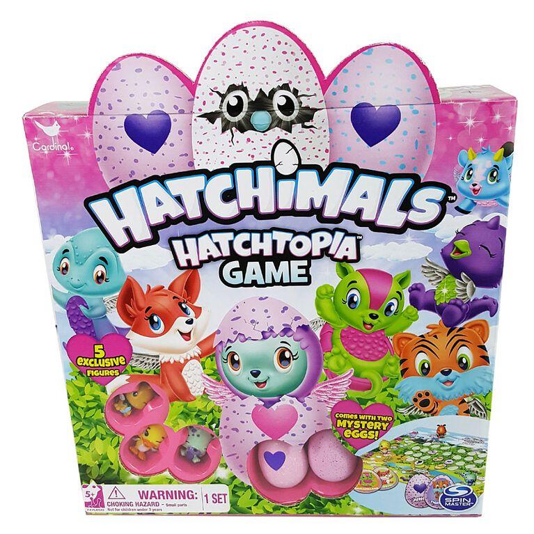 Hatchimals Saison 2 - Jeu Hatchtopia.
