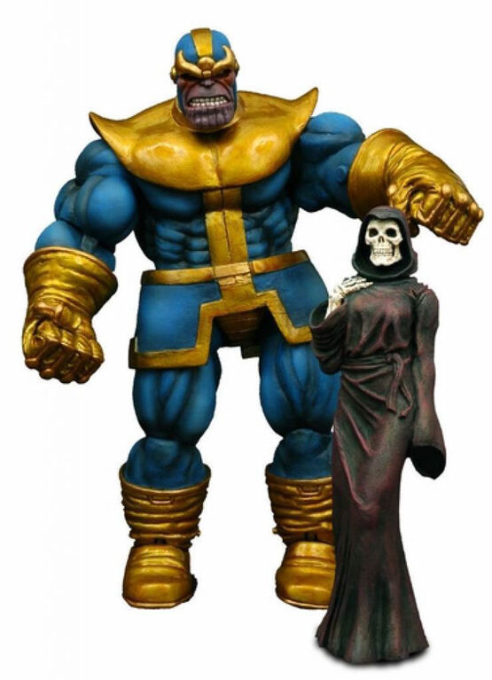 Diamond Select Toys - Marvel Select - Thanos Action Figure - English Edition