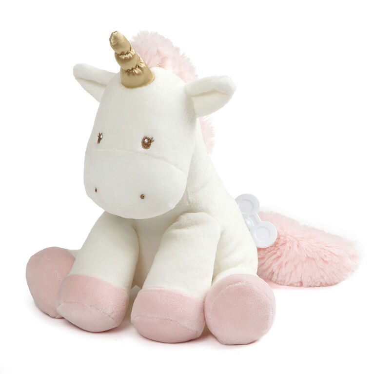 Baby GUND Luna the Unicorn Stuffed Plush Keywind Musical Lullaby, 9""