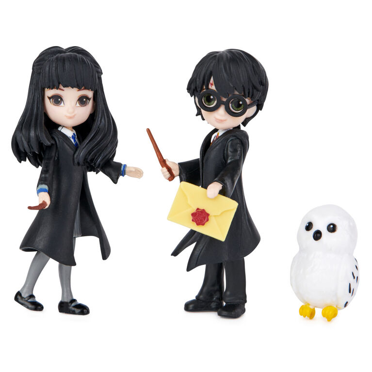 Wizarding World, Magical Minis Harry Potter and Cho Chang Friendship Set with Creature