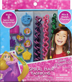 Princess Spiral Hair Fashions