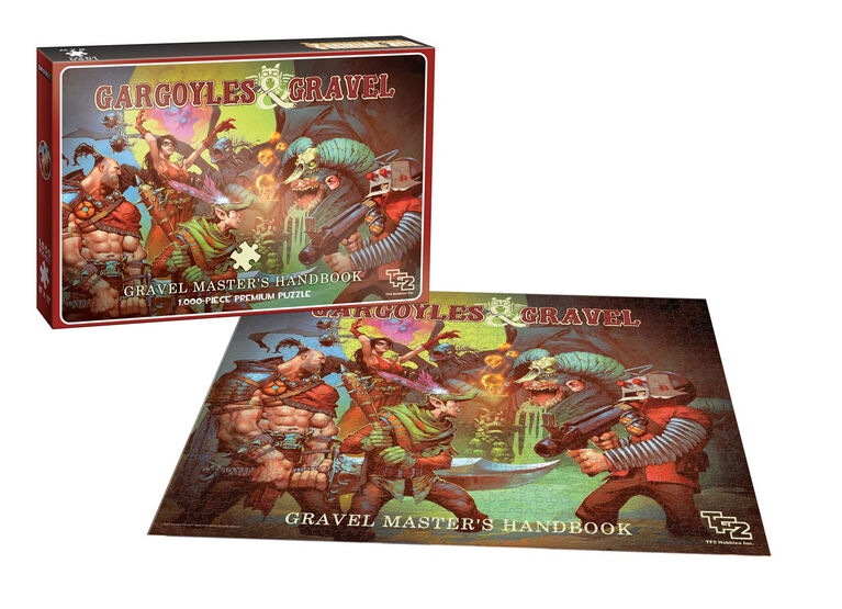 "Team Fortress 2 ""Gargoyles and Gravel"" 1000 Piece Puzzle"