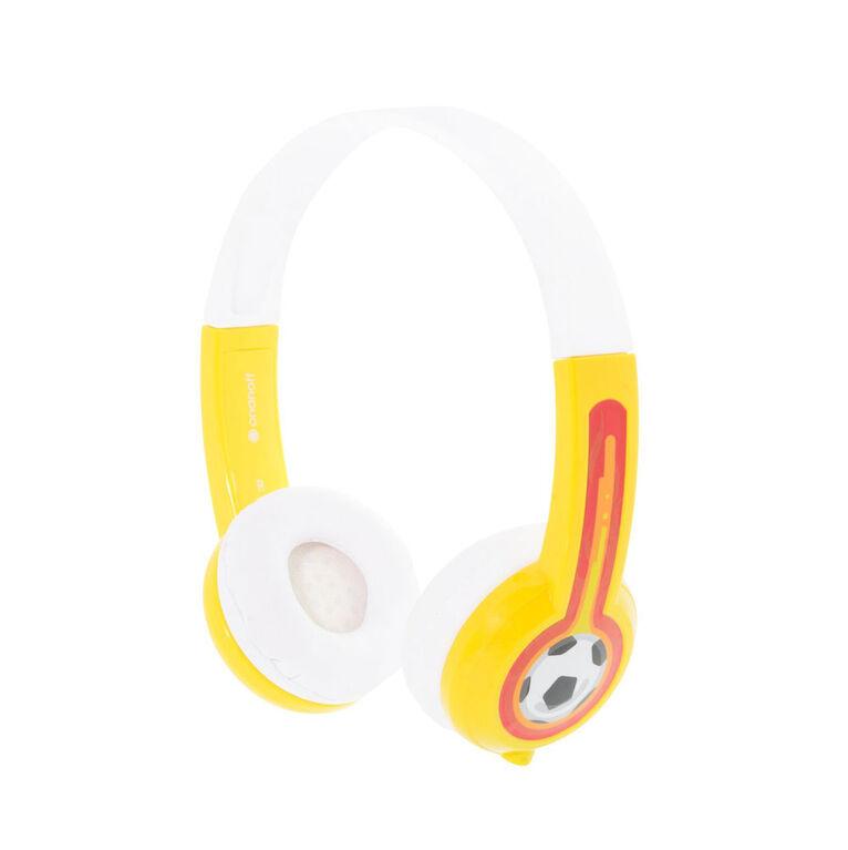 BuddyPhones Explore w/ Mic, Yellow