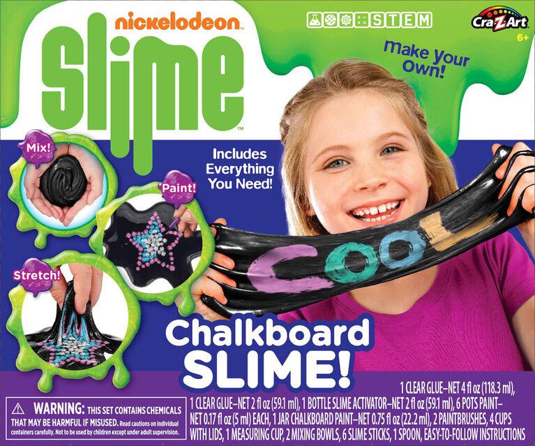Ensemble de glu Nickelodeon à tableau noir