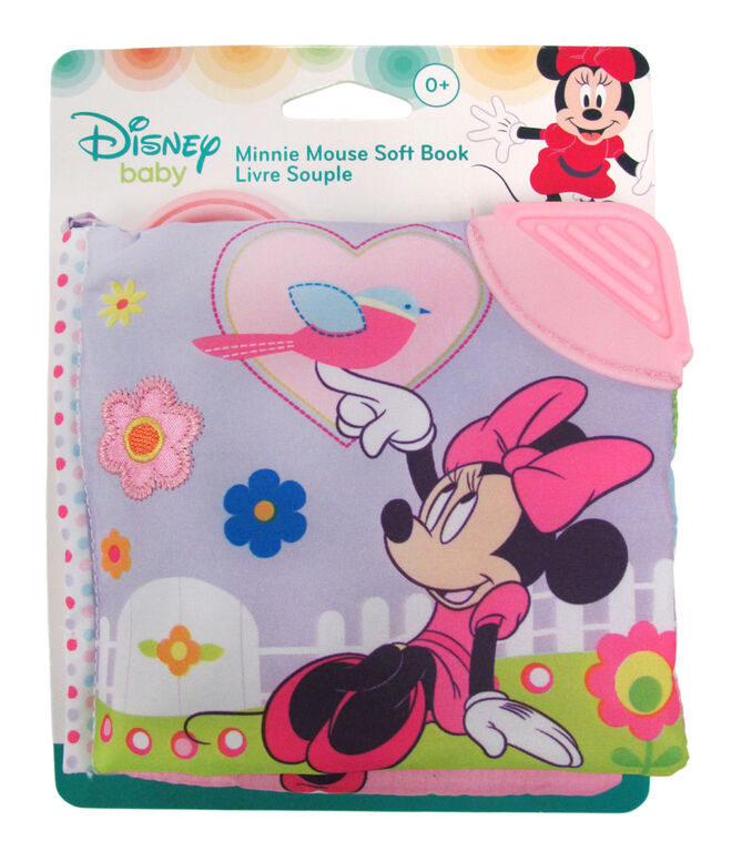 Minnie Mouse in the Garden Soft Book