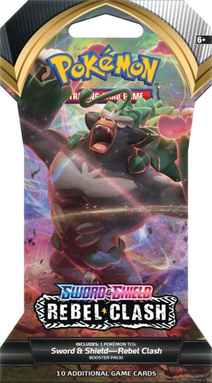 """Pokemon-Sword & Shield 2 """"Rebel Clash"""" Blister"""