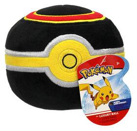 "Pokémon 4"" Pokeball Plush - Luxury Ball"