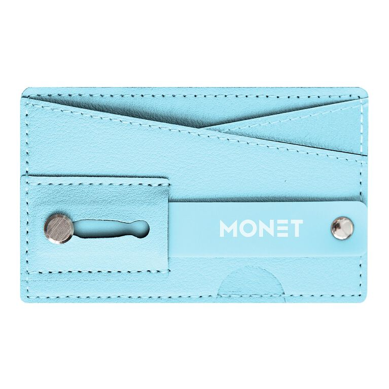 Monet Phone Wallet Grip Stand Blue